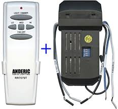 add remote to ceiling fan add remote kit to any 3 speed ceiling fan anderic universal