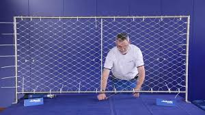 jakob systems attach wire web net to frame instructions