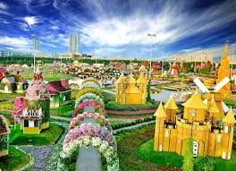 dubai miracle garden in full bloom as attraction opens for winter