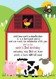 farm birthday invitations also like this item farm animal birthday