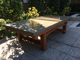 used outdoor ping pong table this one of a kind outdoor ping pong table was a custom request from