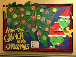 christmas grinchstmas board 1st grade pinterest bulletin ideas