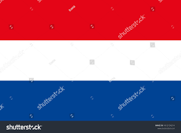 Dansk Flag Flag Netherlands Symbol Independence Day Souvenir Stock
