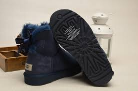 womens ugg boots bow ugg mini bailey bow boots 1005062 navy uggzm00000048 navy