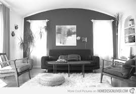 epic silver and black living room design for inspiration to