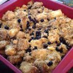 traditional newfoundland blueberry bread pudding bonita u0027s kitchen