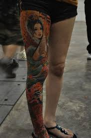 best geisha tattoos