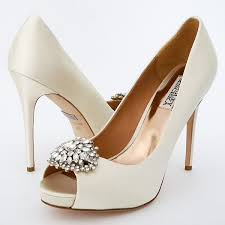 wedding shoes on sale badgley mischka wedding shoes jeannie bridal shoes ivory ornament