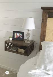 Bed With Attached Nightstands Floating Night Stand My Love 2 Create