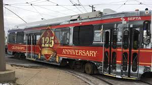 special septa trolley celebrates 125 years of electric trolleys