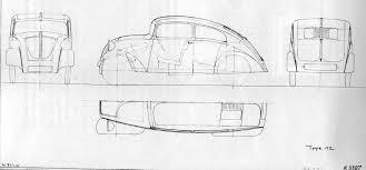 volkswagen beetle sketch vw käfer volkswagen beetle erwin komenda porsche designer