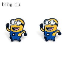 minion earrings popular earrings minion buy cheap earrings minion lots from china