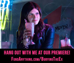 indie spotlight joe dante u0027s burying the ex starring anton yelchin