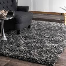 somette portside gray shag rug 2u0027 x 3u0027 portside shag rug