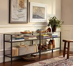 Extra Long Sofa Table by Tanner Long Console Table Bronze Finish Pottery Barn Extra Long
