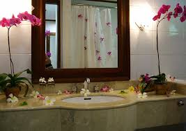 Decorate Bathroom Mirror - mirror tiles in bathroom chandelier silver decor ideas surripui net
