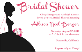 Bridal Shower Images by Just Married Party Invitations Putput Info