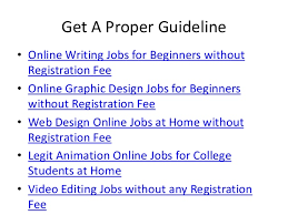 Graphics Design Jobs At Home Online Job For Students Without Registration Fee