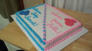 baby shower cake writing