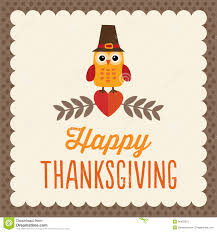 happy thanksgiving clipart free cute thanksgiving card stock photos image 36422573