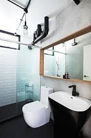 go black for bathrooms home u0026 decor singapore
