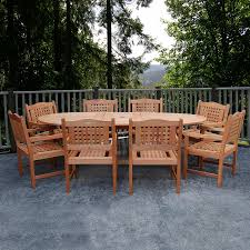 Milano Patio Furniture by Shop International Home Amazonia Milano Grand Extendable Porto 9