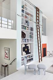 floor to ceiling extravaganza modern bookshelf designs
