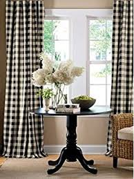 Black Check Curtains Buffalo Check Lined Panel Pair 72x84 Window Curtain