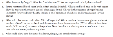 what is meant by sugar what is a carbohydrate chegg