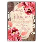 60th birthday invitations paperstyle