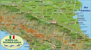 Lucca Italy Map by Map Of Emilia Romagna Italy Map In The Atlas Of The World
