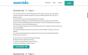 70 411 microsoft real exam questions 100 free exam labs