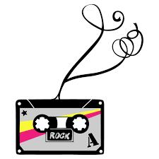 stickers high pour chambre sticker mural cassette motif retro pour chambre ado garçon