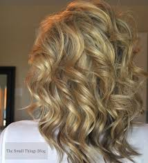 best tool for curling mid length hfine hair how to use a curling wand the small things blog