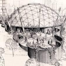paleo future century 21 space needle designs 1962