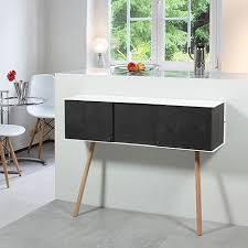 Small Desk Ls Ls 01 Cabinet Black By Vejtsberg Monoqi Bestofdesign
