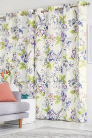 buy illustrative fusion floral print eyelet curtains from the next