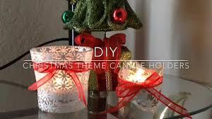 diy candle holder christmas theme candle holder for gift christmas