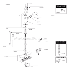 Moen Kitchen Faucet Parts Moen 7560v Parts List And Diagram After 1 11