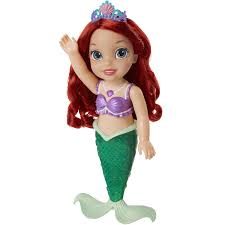 disney princess colors sea ariel doll walmart