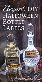 best 10 halloween bottle labels ideas on pinterest halloween