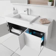 adp seattle 750mm offset bowl bathroom vanity buy online at the