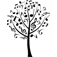 Stickers Arbre Blanc by Stickers Arbre Musical Pas Cher
