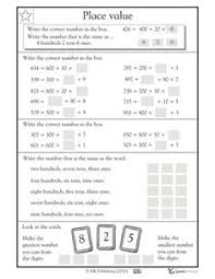 place value worksheets for 2 and 3 digit numbers free ways to
