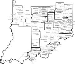 maps of the archdiocese