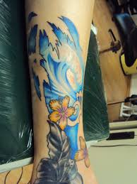 Tropical Themed Tattoos - traditional wave tattoo pictures to pin on pinterest tattooskid