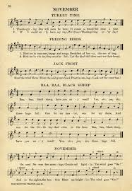 thanksgiving children songs music old design shop blog part 2