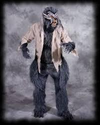 Body Halloween Costumes Adults Deluxe Body Werewolf Halloween Costume