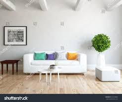 white room sofa living room interior stock illustration 478133086