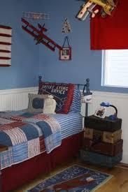 Airplane Kids Room by Restoration Hardware Vintage Airplane Blueprint Bedding Perfect
